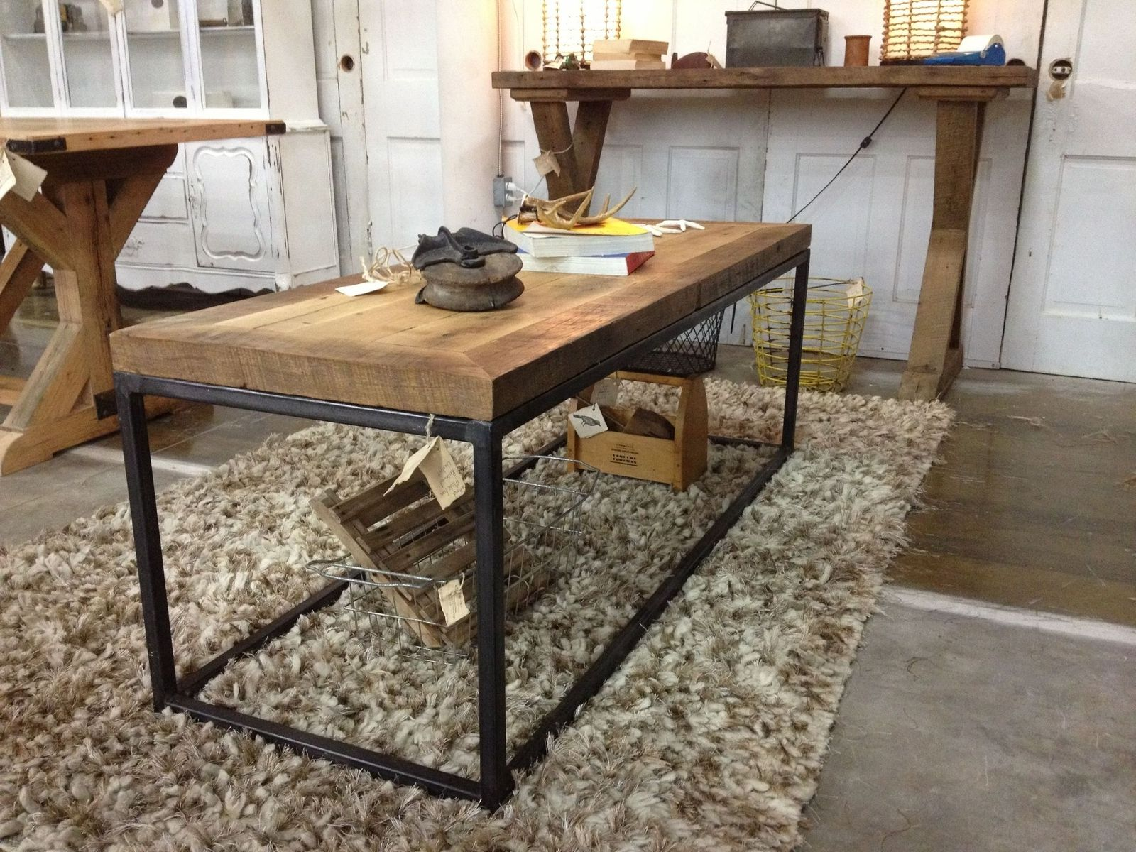 american country wrought iron vintage desk. Custom Made Brickmakers Table American Country Wrought Iron Vintage Desk