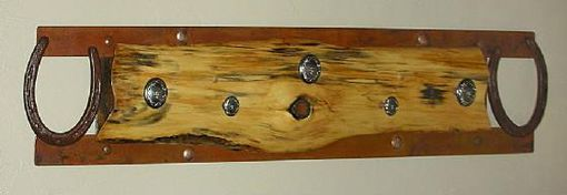 Custom Made Western Style Plank Cedar Hat/Coat Rack