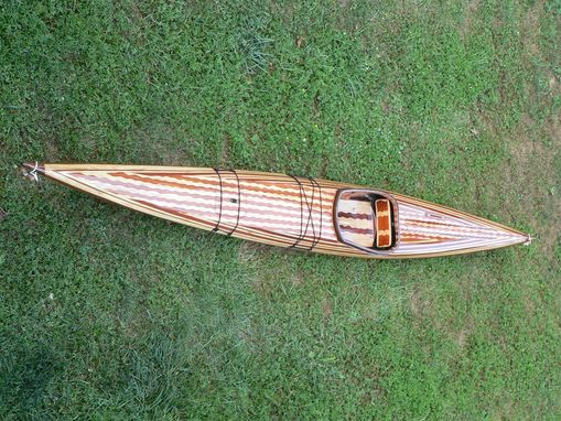 Custom Made Wood Strip Kayaks