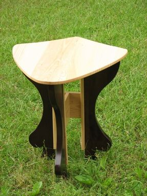 "Custom Made Occasional Table: ""Guardian Of Light"""