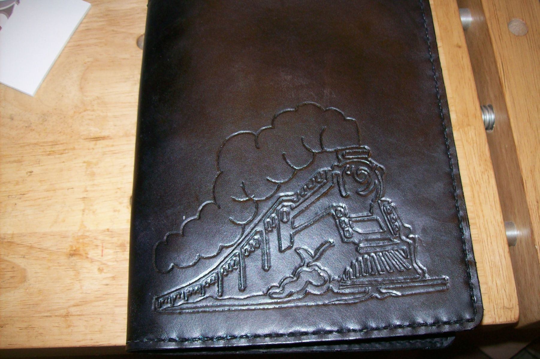 Custom Made Leather Binder By Kerry S Custom Leather
