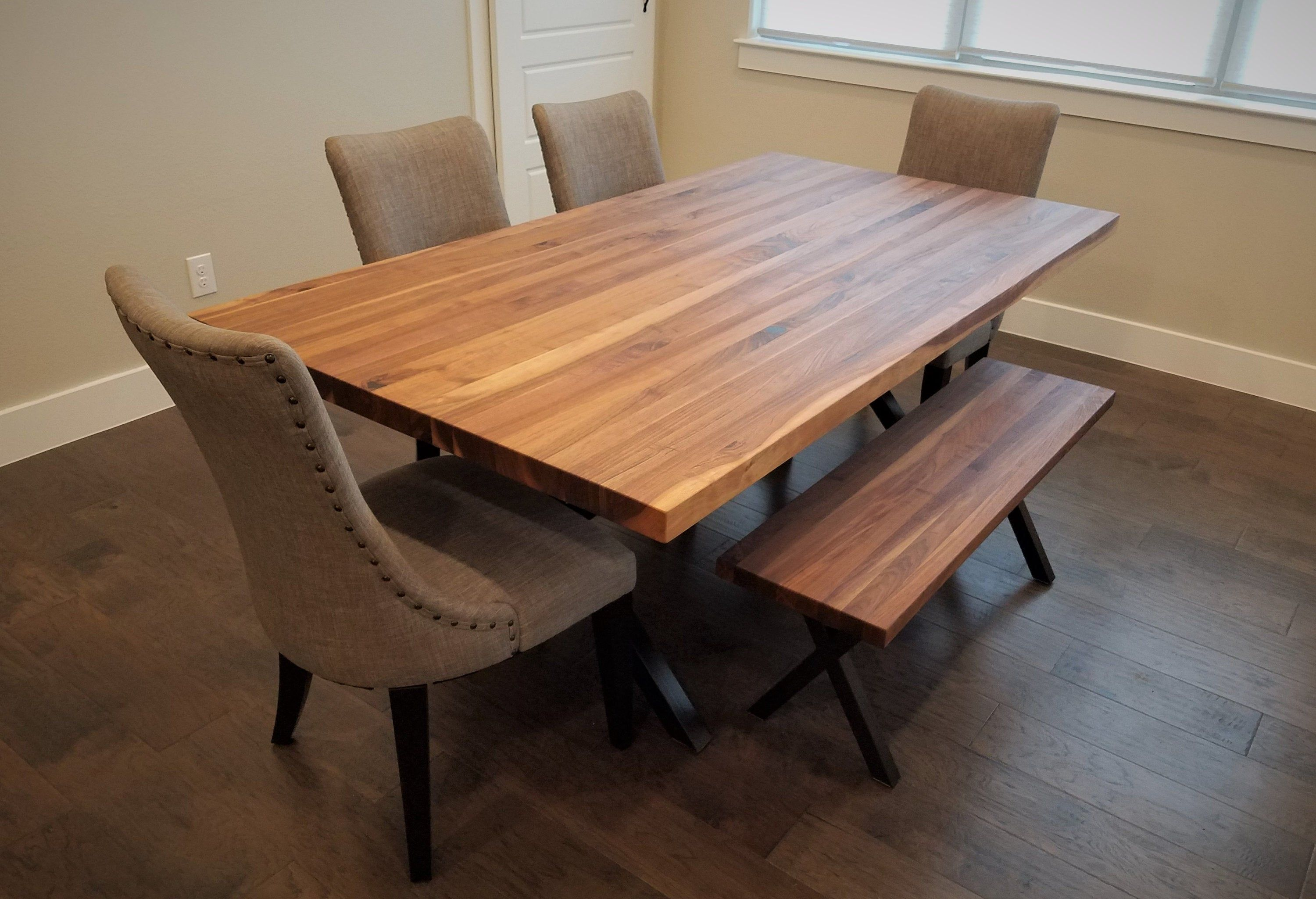 Tremendous Custom Made Walnut Butcher Block Table Top By Yost Beutiful Home Inspiration Cosmmahrainfo