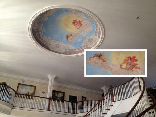 Custom Made Premium Brush-Painted With Lifelike, Accurate Or Heavy Detail Custom Home Murals