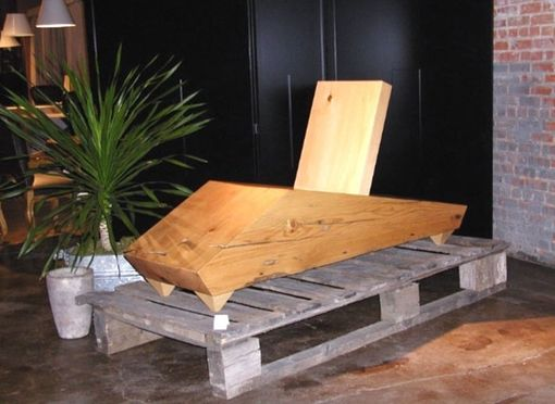 Custom Made Block & Slab Chaise