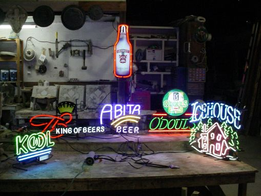 Custom Made Jim Beam Official Race Neon Sign