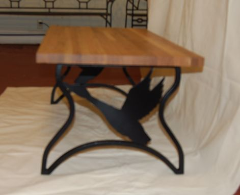 Custom Made Table - Coffee Table Duck/Goose