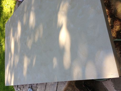 Custom Made Concrete Kitchen Table