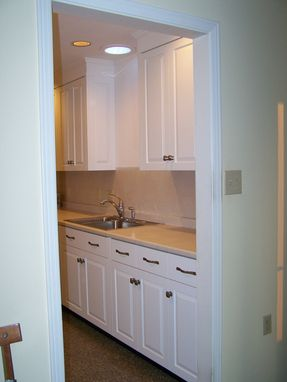 Custom Made New England Inset Kitchen Cabinets