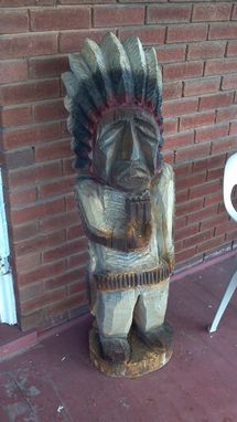 Custom Made Cigar Store Indian