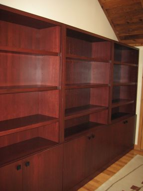 Custom Made Office Bookshelves Cabinets