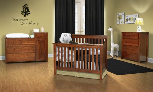Custom Made Christian Jacob Children's Crib Set