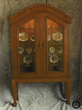 Custom Made #1001 Lighted Display Cabinet