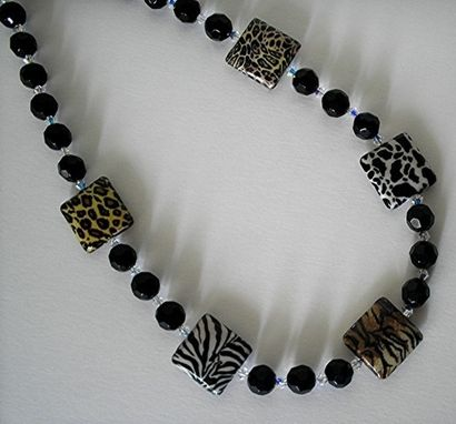 Custom Made Animal Print Necklace