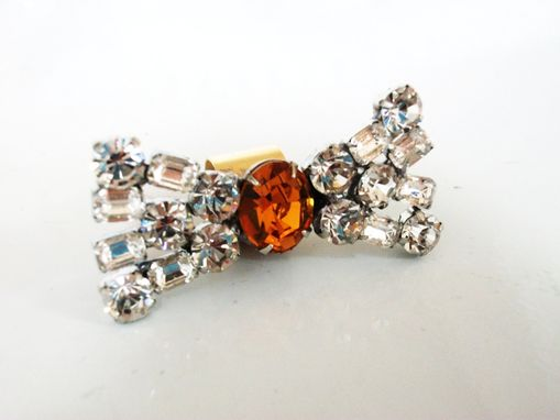 "Custom Made Rhinestone Ear Cuff ""Layla''"