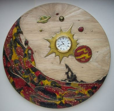 Custom Made Wooden Decorative Panel <Outer Space>