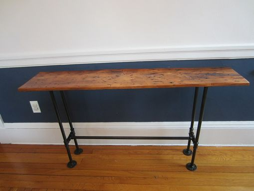 Custom Made Barnwood Console Table