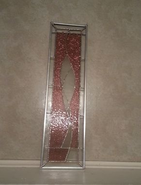 Custom Made Stained Glass Transom/Wall Art/Sidelight/Cabinet Insert