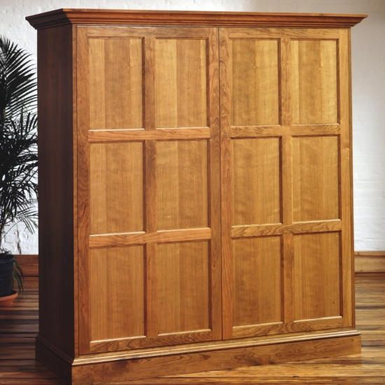 custom made cherry home office armoire in scarsdale ny