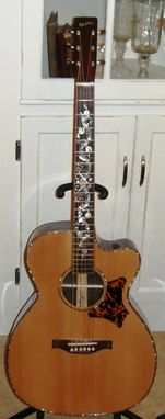 Custom Made Hawkins Om Cutaway Guitar