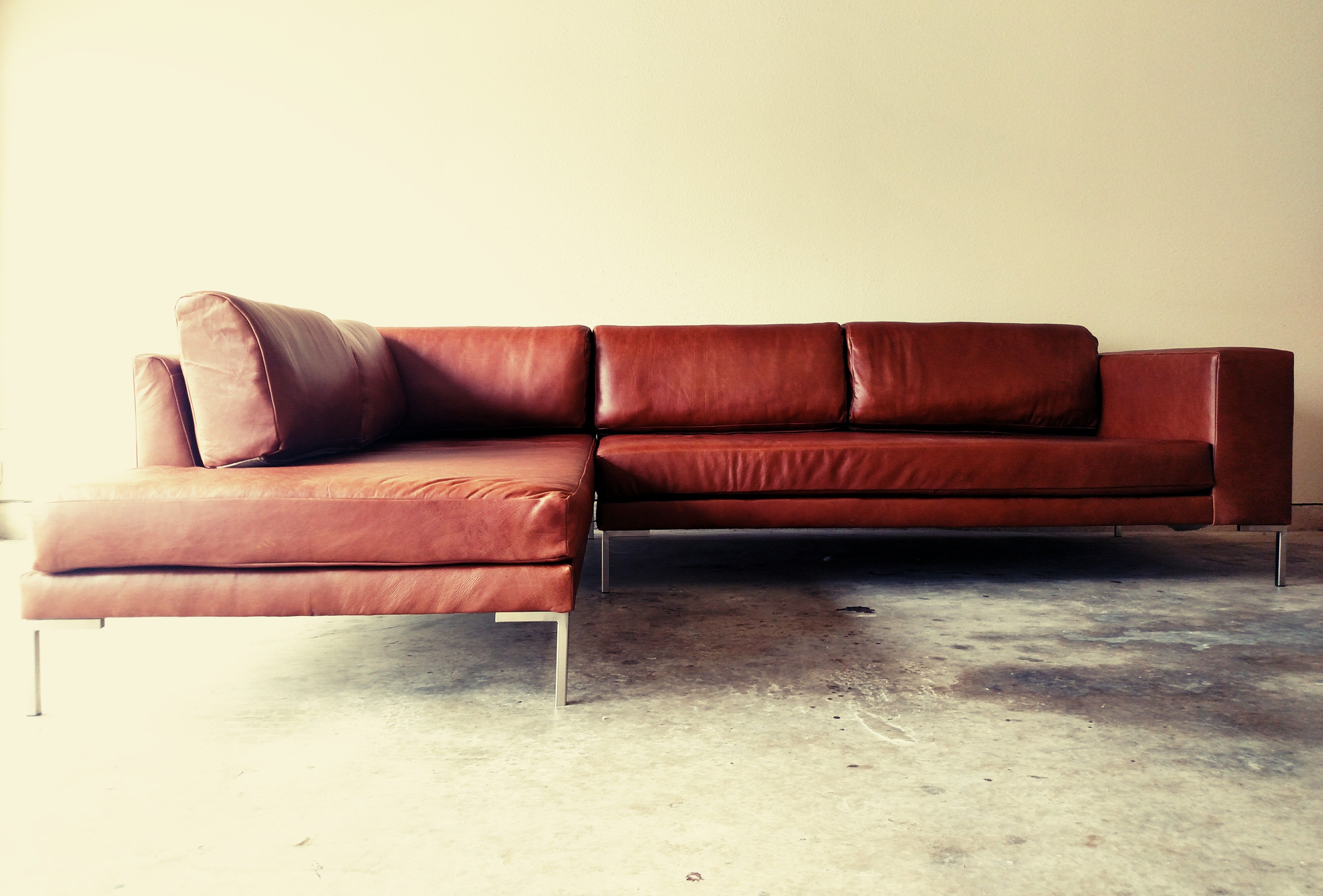 Buy Custom Gr Leather Sofa Chaise Sectional We fer A Variety