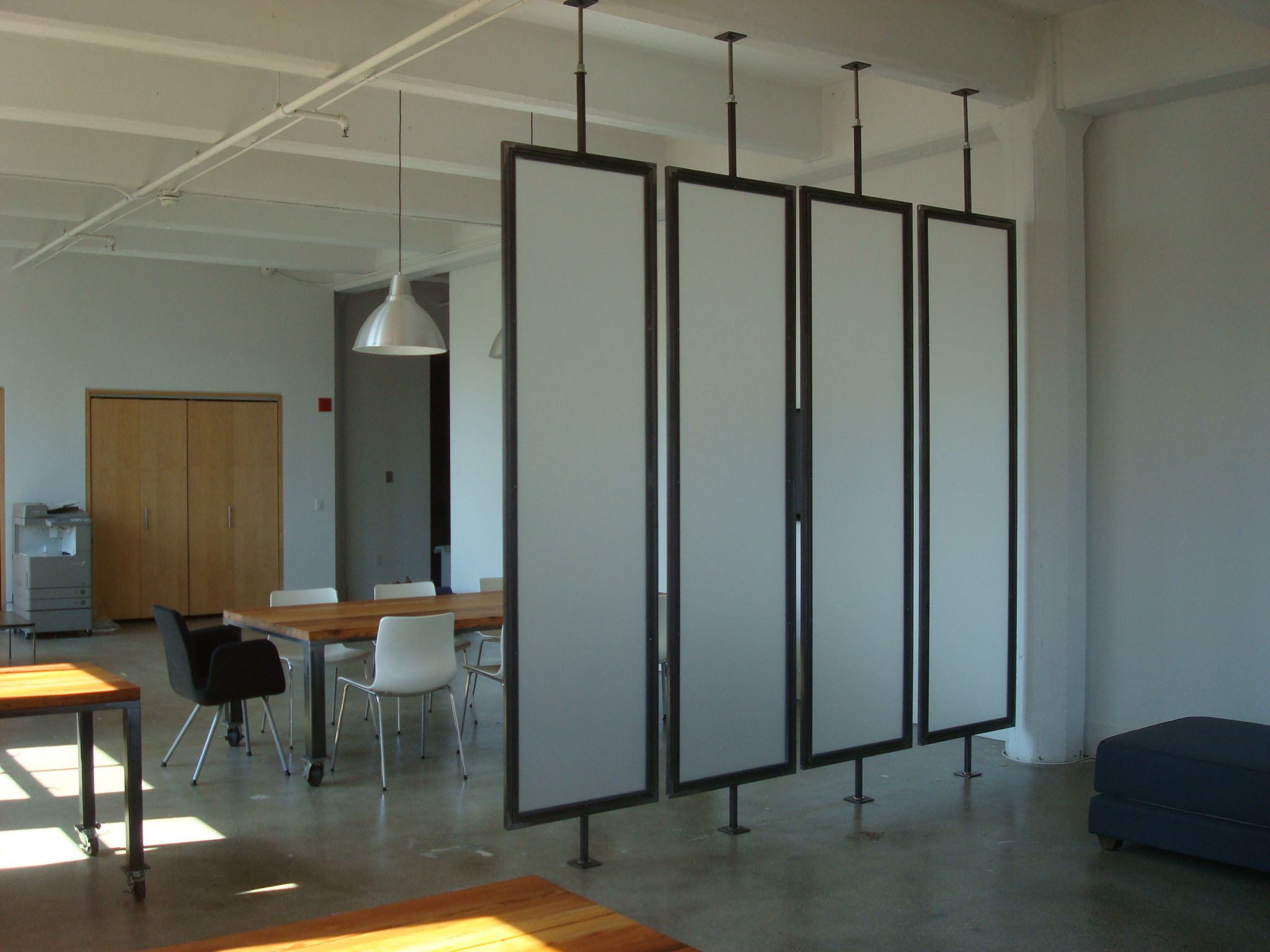 Handmade louver room dividers by lightfootworks for The room partition