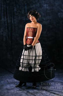 Custom Made Victorian Ball Gown