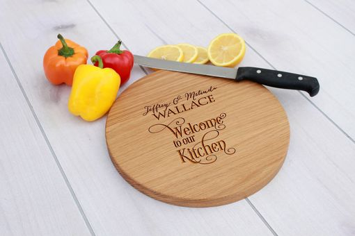 Custom Made Personalized Cutting Board, Engraved Cutting Board, Custom Wedding Gift – Cbr-Wo-Jeffrey&Melinda