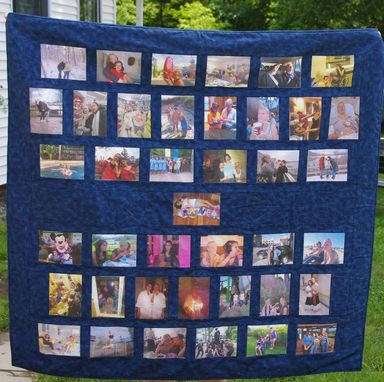 Custom Made Photo Quilt