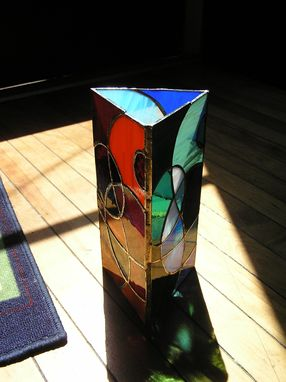 Custom Made Glass Sculpture/Mood Lantern