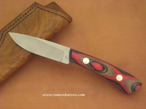 Custom Made Workline Knife, Bright Earth Laminated
