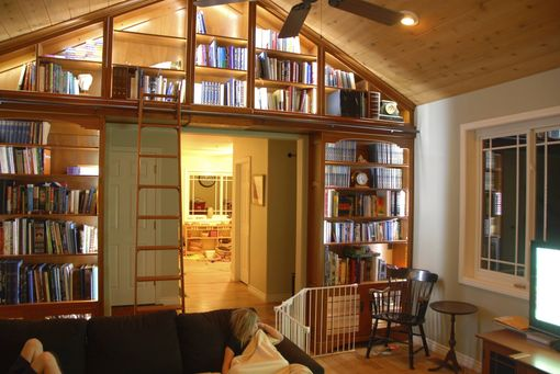 Custom Made Craftsman Library
