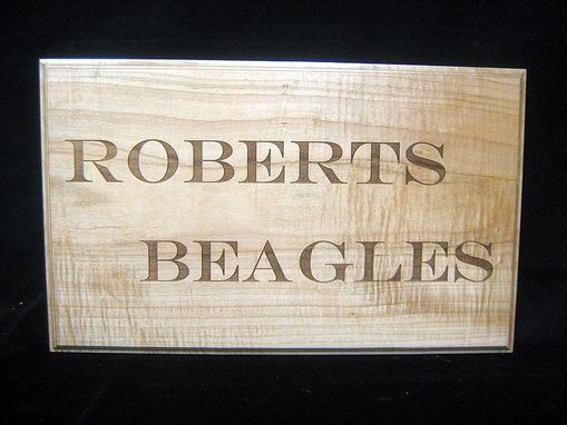 Custom Made Custom Signage For Roberts Beagles
