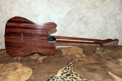 Custom Made Chambered, Rosewood/Maple Tele Style Guitar