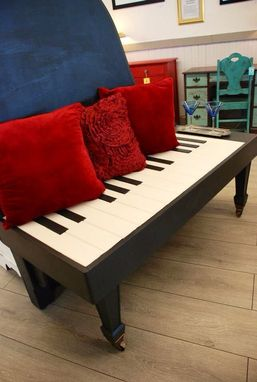 Custom Made Upcycled Piano Bench