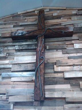 Custom Made Living Hope Cross