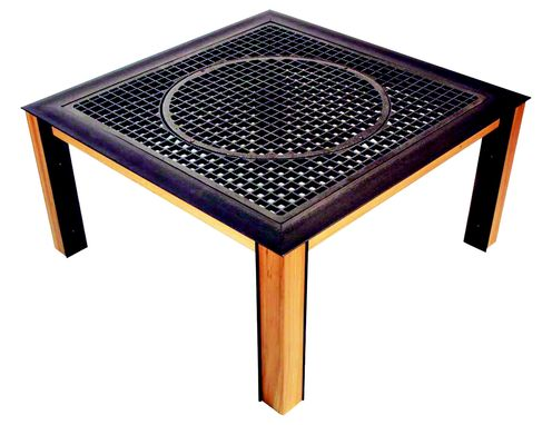 Custom Made Grate Table #3