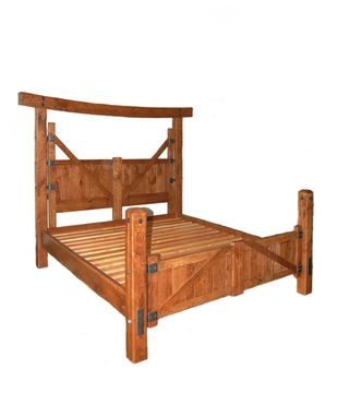 "Custom Made ""Gate"" Bed"
