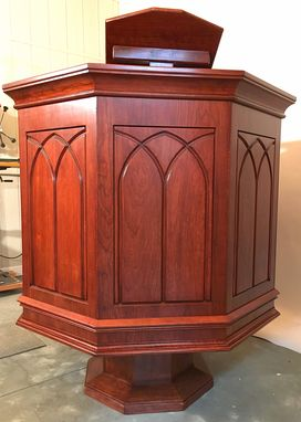 Custom Made Gothic Pulpit