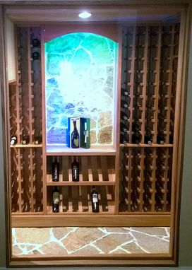 Custom Made Wine Cellar/ Wine Rack