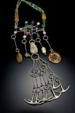 Custom Made Ancient Fibula Cloak Pin Circa 5th Dynasty B.C.