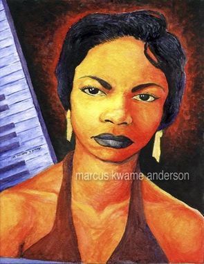 Custom Made Alabamas Got Me So Upset Nina Simone 8x10 Archival Print