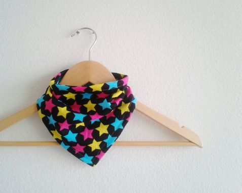 Custom Made Super Star Bandana Baby Bib