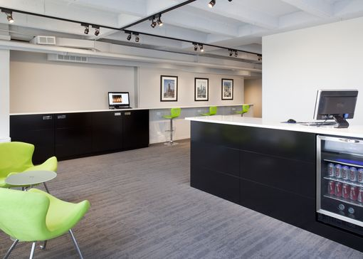 Custom Made Downtown Office Reception