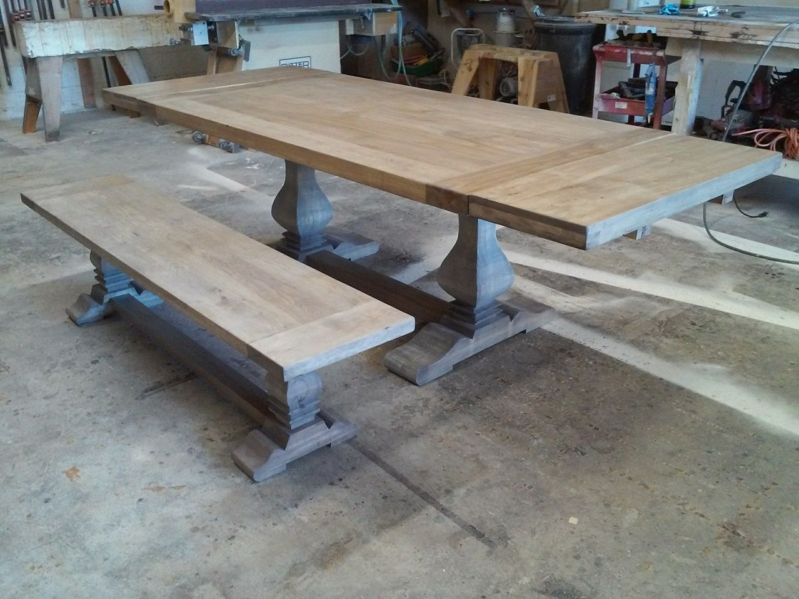 trestle dining tables custommade com