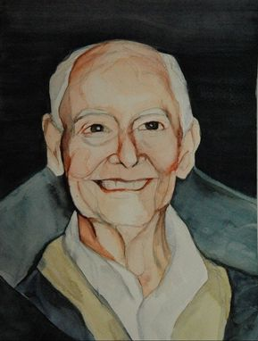 Custom Made Watercolor Portrait
