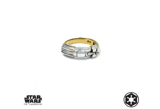 Custom Made Vader Saber Ring - Precious Metals