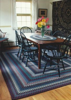 Custom Made Dining Room Braided Rug