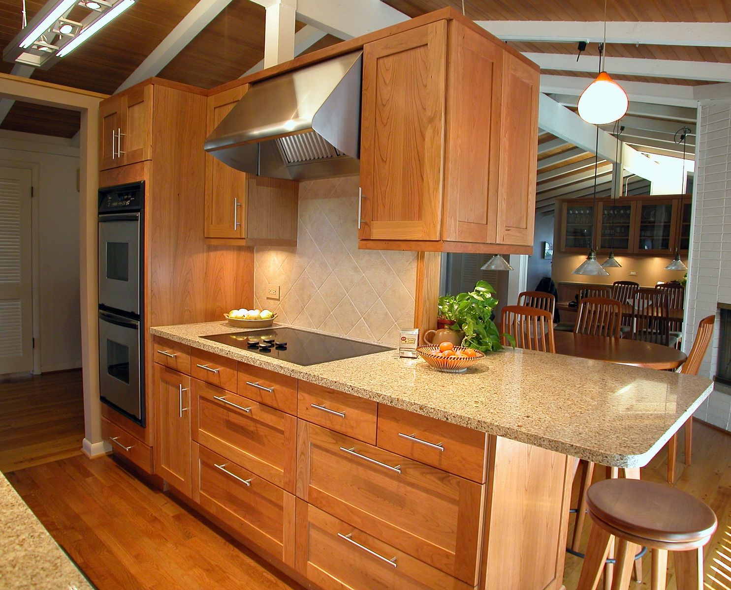 kitchen cabinets com custom made wilmette cherry galley kitchen by wj custom 20203