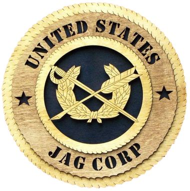Custom Made United States Jag Corp Wall Tribute, United States Jag Corp Hand Made Gift