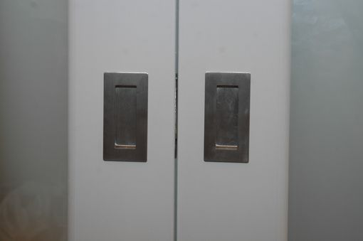 Custom Made Closet Doors W Frosted Glass Panels